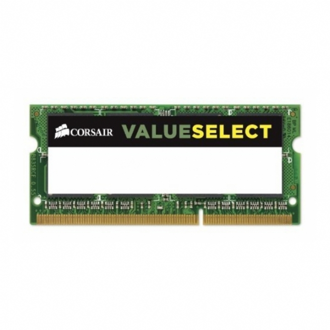 Memoria notebook SODIMM Corsair Value Select 4 GB DDR3
