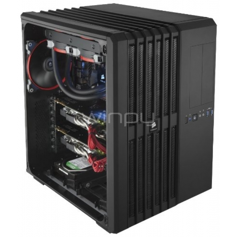 Gabinete Corsair Carbide Series Air 540 (E-ATX, Con Ventana, Sin Fuente)