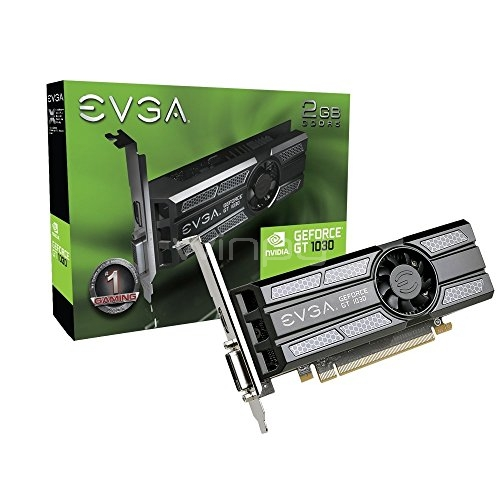 EVGA nVIDIA GeForce GT 1030 SC (2GB GDDR5, Low Profile)