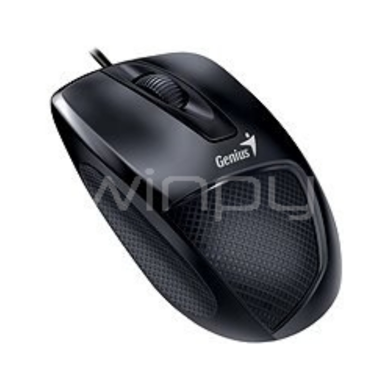 mouse genius dx-150x (usb, 1000dpi, negro)