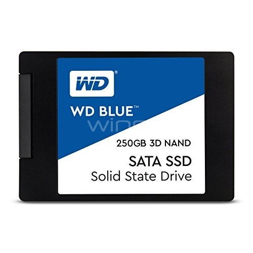 Disco estado sólido Western Digital Blue de 250GB (SSD, SATA)
