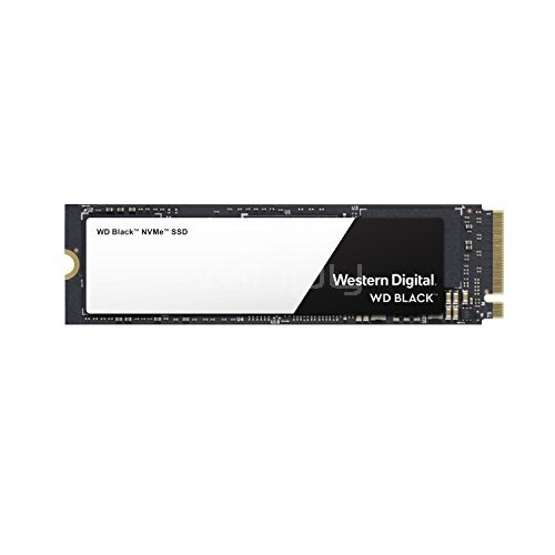 Unidad estado sólido Western Digital Black de 500GB (M2 2280, NVMe)