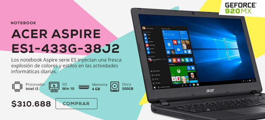 Notebook Acer Aspire ES1