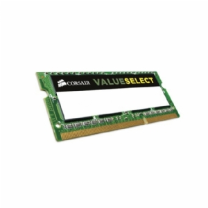 Memoria Corsair Value SelectSODIMM 8 GB, DDR3, 1600 MHz