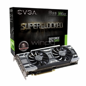 EVGA nVIDIA GeForce GTX 1080 SC Gaming ACX 3,0 - 8GB GDDR5X