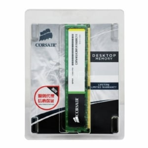 Módulo de memoria Corsair Value Selec de 4 GB (1 x 4 GB, DDR3, 1600 MHz, CL11)