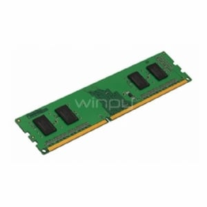 Memoria RAM para PC de 4 GB Kingston KCP3L16NS8/4 - (1600 MHz, DDR3L, 1,35V, CL11, 240-pin UDIMM)