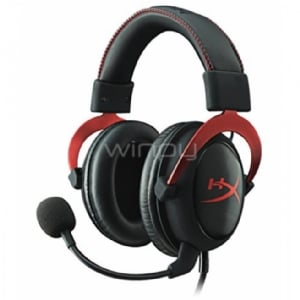 Audífonos gamer HyperX Cloud II Rojo (para PC/PS4/Mac)
