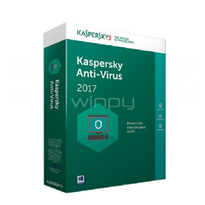 Kaspersky Anti-Virus 2017 - 10PC - KL1171DBKFS
