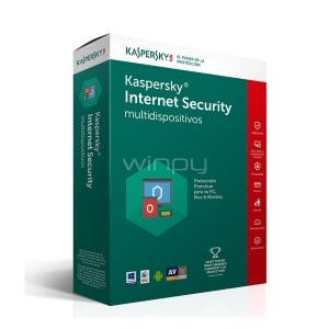 Kaspersky Internet Security multidispositivos 2017- 5PC, Mac y Android - KL1941DBFFS