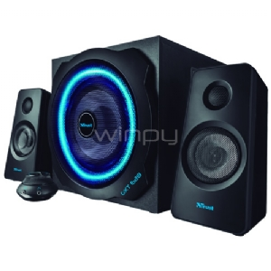 Subwoofer Gaming Trust GXT 628 (Sistema 2,1, Led, 120W)