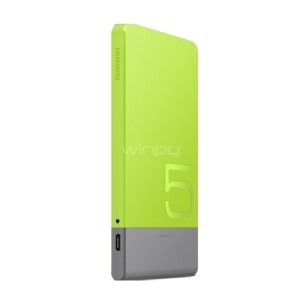 Power Bank Super Thin Huawei (5000mAh, MicroUSB, 5V/2A, Verde)
