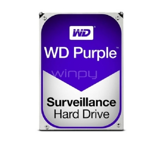 Disco duro Western Digital Purple 4-Tera Serial ATA III