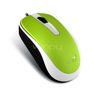 Mouse Genius DX-120 (USB, 1000DPI, Verde)