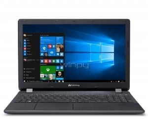 Notebook Gateway NE571-38UF (i3-5005U, 8GB RAM, 500GB HDD, Pantalla 15,6, W10)