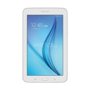 Tablet Samsung Galaxy Tab E 7 (Quad-Core, 1GB RAM, Wifi, Blanca)