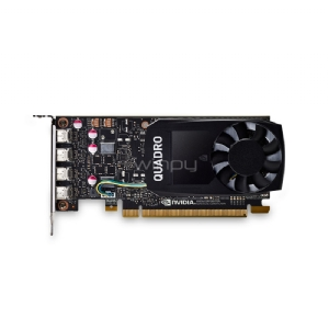 Tarjeta de video profesional PNY nVIDIA Quadro P1000 (4GB GDDR5, retail)