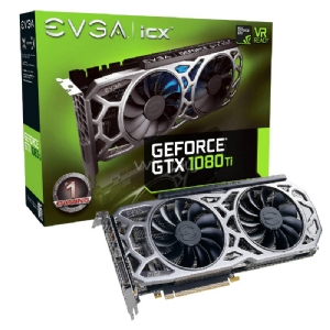 Tarjeta de Video EVGA nVIDIA GeForce GTX 1080 SC2 Gaming ACX 3,0 - 11GB GDDR5X