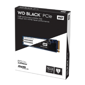Unidad estado solido PCIe Western Digital Black de 512GB (NVMe)