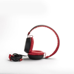 Audífono Over Ear Coloud BOOM Blocks (Negro/Rojo)