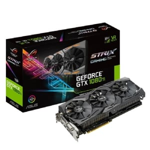 Tarjeta de Video ASUS ROG STRIX GeForce GTX 1080 TI - 11GB GDDR5X
