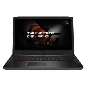 Notebook Gamer Asus ROG Strix GL702ZC-GC209T (Ryzen 1700, Radeon RX580, 16GB DDR4, 256SSD+1TB, Win10, FullHD 17,3)