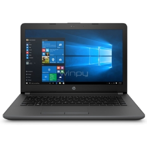 Notebook HP 240 G6 (Celeron N3060, 4GB DDR3, 500GB HDD, Pantalla 14, Win10)