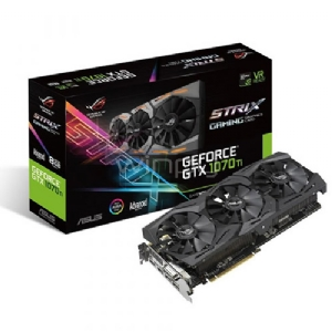 Tarjeta de Video Asus ROG Strix GeForce GTX 1070 Ti 8GB GDDR5 (Edition Advanced)