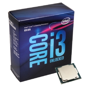 Procesador Intel Core i3-8350K Coffee Lake (LGA1151 - QuadCore - 4,0 GHz)