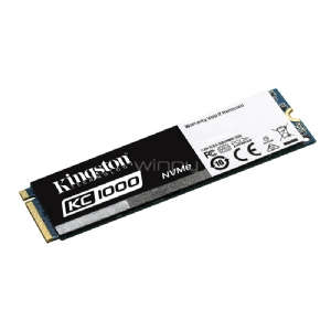 Unidad estado sólido Kingston KC1000 de 480GB (PCIe NVMe, M2 2280)