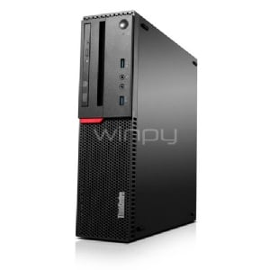 Computador Lenovo ThinkCentre M710 SFF (i3-7100, 4GB DDR4, 1TB 7200rpm, Win10 Pro)