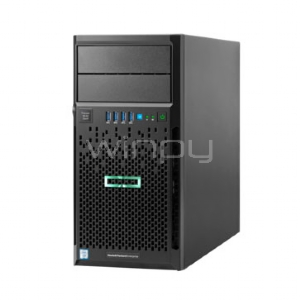 Servidor HP ProLiant ML30 Gen9 (Xeon E3-1220v6, 8GB DDR4, 1TB HDD, Torre 4U)