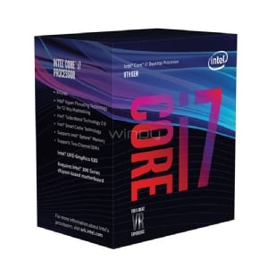 Procesador Intel Core I7-8700 Coffe Lake (LGA1151v2 - 6 Núcleos - 3,2 GHz - Turbo 4,6 GHz)
