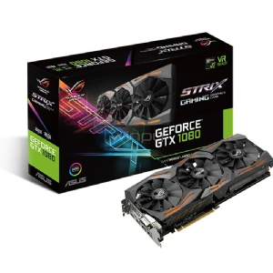 Tarjeta de Video Asus Rog Strix GeForce GTX 1080 - 8GB GDDR5X
