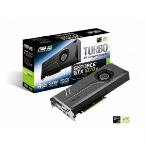 Tarjeta de Video ASUS Turbo GeForce GTX 1070 TI de 8GB GDDR5