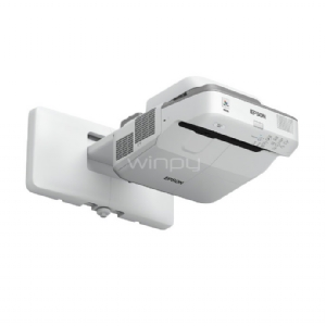 Proyector Interactivo Epson BrightLink 675Wi+ (3LCD, 3200 lumenes, 1280×800, Ultracorto, 2 lápices interactivos)