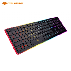 Teclado Gamer Cougar Vantar (USB, LED 8 Colores, Anti-Ghosting, Español)