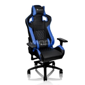 Silla Gamer Profesional Thermaltake GT Fit F100 (Black & Blue)