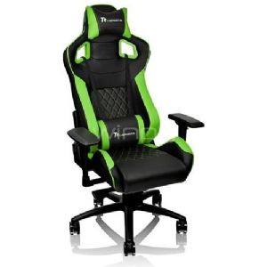 Silla Gamer Profesional Thermaltake GT Fit F100 (Black & Green)