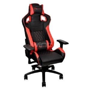 Silla Gamer Profesional Thermaltake GT Fit F100 (Black & Red)