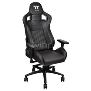 Silla Gamer Profesional Thermaltake XF100 X Fit (Premium, Black)