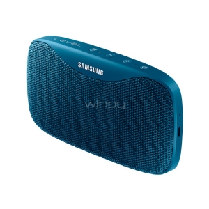Parlantes Portatil Samsung Level Box Slim (Bluetooth, Resistente al agua, hasta 30 horas, Azul)