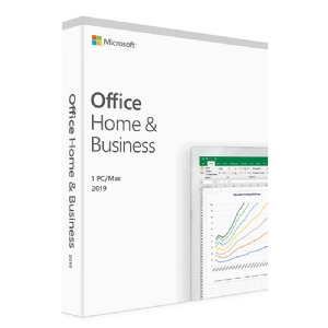 Licencia Microsoft Office Hogar y Empresas 2019 (PC o Mac, Multilenguaje, Descargable)