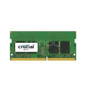 Memoria Crucial  DDR-4GB - SO-DIMM 260-pin (2666 MHz / PC4-21300 - CL19-1,2V - Sin búfer - No ECC )