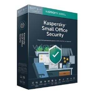 Licencia Kaspersky Small Office Security 6 (10 Dispositivos, 1 Server, 1 Año)