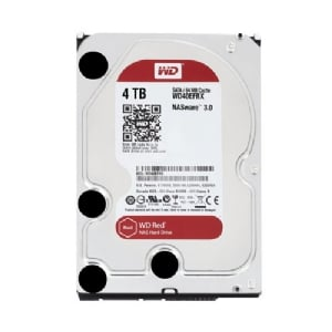 Disco duro Western Digital Red de 4 Tera (SATA 6Gb/s, 64MB cache, 3,5 pulgadas)