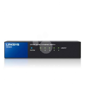Switch Linksys SE3005 Gigabit 5 puertos