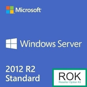 Microsoft Windows Server 2012 R2 Standard Edition ROK 748921-B21