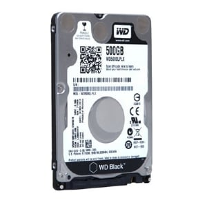 Disco Duro Western Digital Black de 500GB (SATA, 7200rpm, Formato 2.5)