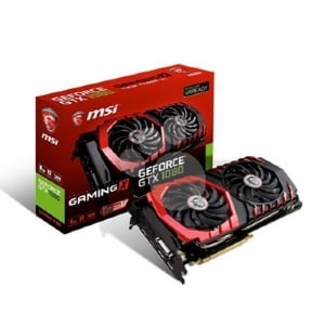 MSI NVIDIA GeForce GTX 1080 GAMING X - 8 GB